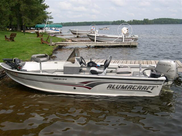 boat rentals and outboard motor rental cisco lakes chain, Fish Finder